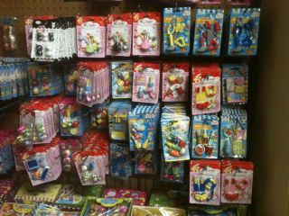 Huge Lot 40 Packs Puzzle Erasers Party Gift Birthday Xbox Barbie Doll Toy Fun