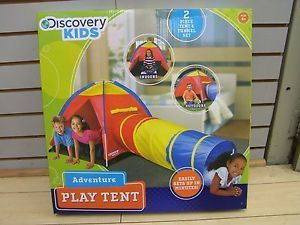 Discovery Kids Adventure Play Tent Indoor Outdoor New Addition New Educational