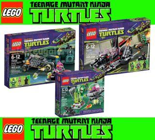 Lego Teenage Mutant Ninja Turtles Combo Pack 79100 79101 79102 190769975394