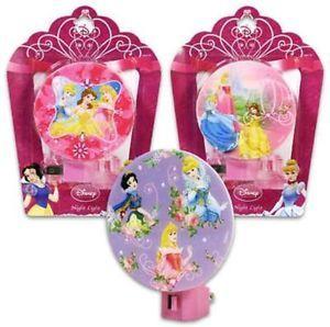 Disney Princess Night Light Lamp Cinderella Snow White
