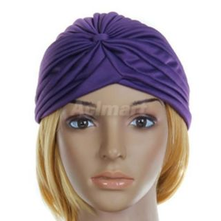 Hot Chemo Turban Towel Head Band Wrap Hat Cap 5 Color