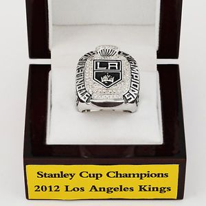 2012 Los Angeles Kings NHL Rings Stanley Cup Champions Ring Fans Gift 11 Size