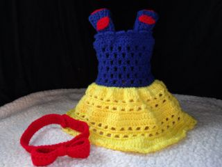 Free Crochet Pattern For Snow White Dress : Disney Princess Snow White on PopScreen