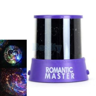 3X Romantic Cupid Heart Night Light Star Projector Cosmos Constellation Lamp