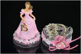 Favors Sweet 15 Quinceanera Sweet 16 Recuerdos Souvenirs Fav 029 X12