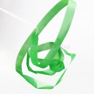 Green Gym Rhythmic Gymnastic Ballet Dance Ribbon Streamer Party Musical Theatre