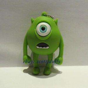 8GB Monsters Inc Mike Wazowski USB Flash Drive Free Shipping Memory Stick