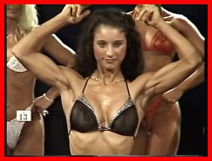 Female Muscle Bodybuilder European Fitness Beauties VHS