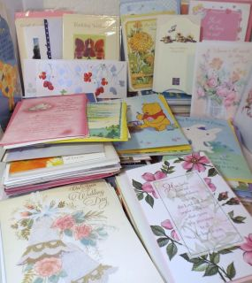 Huge Assortment of Greeting Cards Mixed Occasion 200 w Envelopes