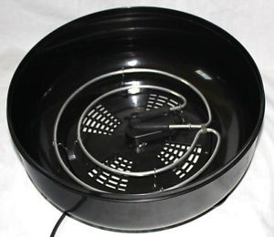 Ronco Black Electric Food Dehydrator Heating Coil Bottom Fits 187 04