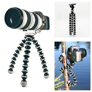 Small Flexible Octopus Tripod Bracket Stand for DSLR DC ILDC Camera Canon Fuji