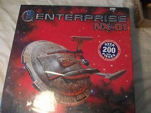 RARE Polar Lights SEALED Star Trek Original Enterprise NX 01 Model Kit 1 350