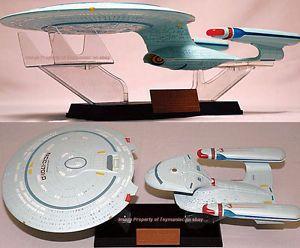 Aoshima Skynet Star Trek USS Enterprise NCC 1701 D 1 2000 Scale Model from Japan