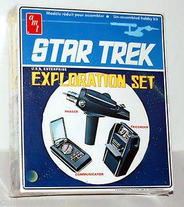 Star Trek 1974 USS Enterprise Exploration Set Model Kit SEALED Complete