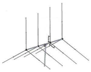 Gizmotchy G41 4 Element Beam Antenna 1500W 10 11 Meter CB Ham