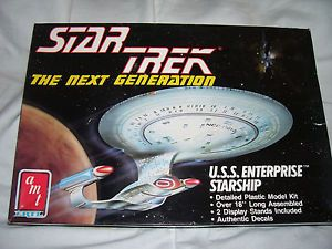 AMT Ertl Kit 6619 Star Trek The Next Generation USS Enterprise NCC 1701 D