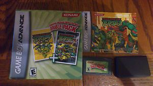 Teenage Mutant Ninja Turtles Double Pack Nintendo Game Boy Advance, 2006