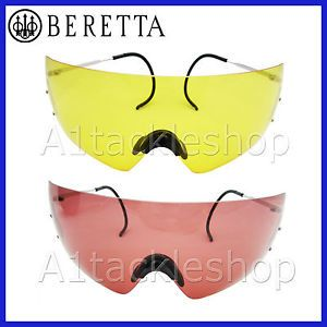 Beretta Shotgun Shooting Glasses for Clay Pigeon or Game Choose Colour
