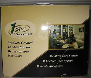 1 Plan Guardian Fabric Leather Wood Furniture Care System Cleaner