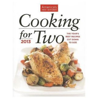 New Cooking for Two 2013 by Editors at Americas Test Kitchen COR Mint
