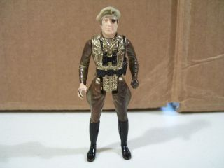 Vintage Mego Eagle Force Diecast Soldier Action Figure 1981 Eye Patch