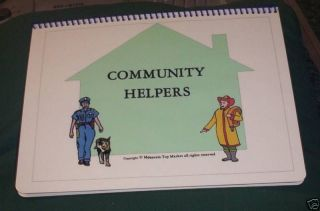 Community Helpers Digital File Folder Autism Pecs Game