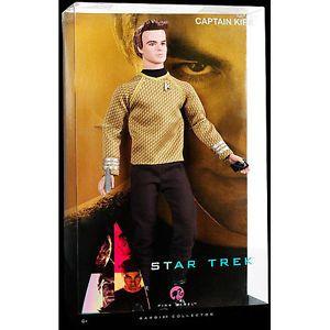 Star Trek Captain Kirk Enterprise 2009 Barbie Ken