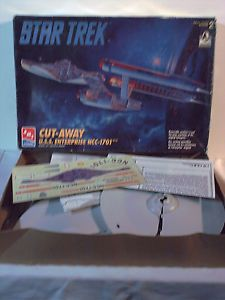 AMT Ertl Star Trek Cutaway USS Enterprise NCC 1701