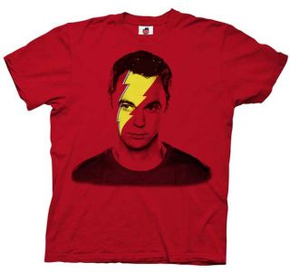 Big Bang Theory Sheldon Cooper Flash T Shirt Sz Medium
