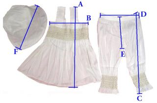 White Christening Girl Baby Clothes Ruffle Top Pant Hat Set Outfit Costume 0 24M