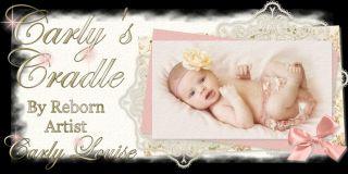 Reborn Gabrielle Joanna Gomes Ed Lifelike Real Baby Doll Artist Carly Louise