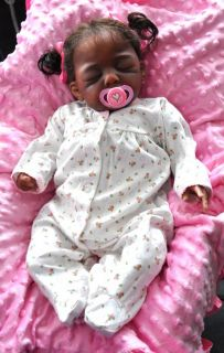 Gorgeous Ethnic AA Reborn Baby Topaz Baylee by Lorna Miller Sands