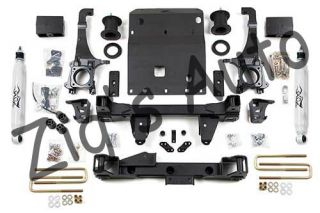 Zone 6'' Suspension Lift Kit for 2005 2012 Toyota Tacoma w Nitro Shock Upgrade