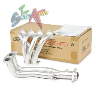 DC Sports Ceramic Coated Steel 4 2 1 Racing Header 94 01 Acura Integra RS LS GS