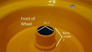 "8"" Rim Wheel for Husqvarna Riding Lawn Mower Garden Tractor Go Kart 8x5 37"