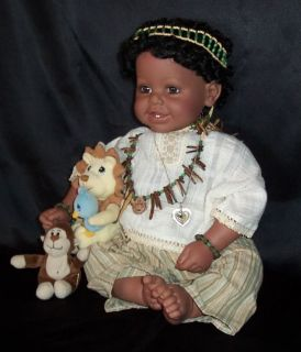 Adora Retired Limited Edition Jamar African Baby Doll