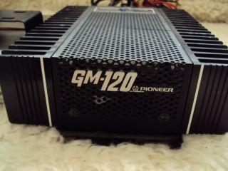 Vintage Pioneer Car Stereo GM 120 Power Amplifier Pioneer KP 88g Cassette Player