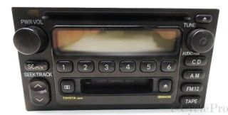 Delphi 09357129 Stock Toyota Car Truck Double DIN Radio CD Player Tape Deck