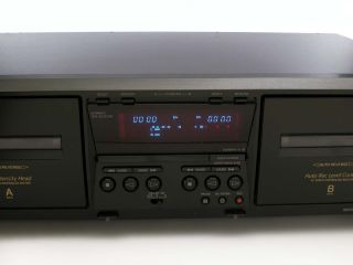 Sony TC WE475 Stereo Dual Cassette Deck Tape Player Recorder w Auto Reverse