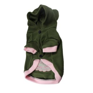 Pet Dog Cute Clothes Hoodie Sweater Hooded Warm Pig Pattern Puppy Coat Costume