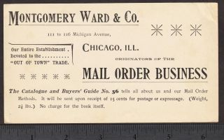 Montgomery Ward Catalog