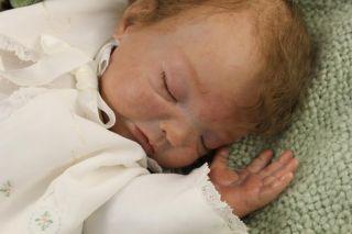 "Layaway Lifelike Reborn Vinyl Doll Avery by Denise Pratt 21"" Newborn Baby Girl"