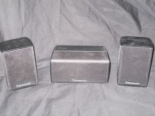 3 Set Panasonic SB HS230 Surround Speakers SB HC230 Center Channel