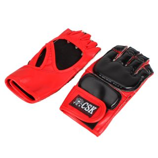 New CSK PU Leather Training Sparring Boxing Gloves GX9168 Pick Two Colors Y184