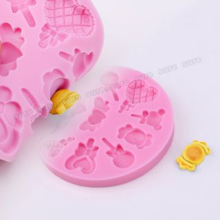 3D Silicone Cake Decorating Fondant Bakeware Mould Mold Birthday Baby Themed