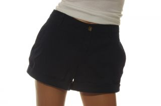 Old Navy Womens 3 1 2 inch Perfect Shorts Khaki Navy Blue Chino 0 2 4 6 8 12 New