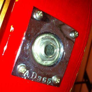 Vintage 1961 Rickenbacker Capri Model 330 335 RARE Original Clean w Case