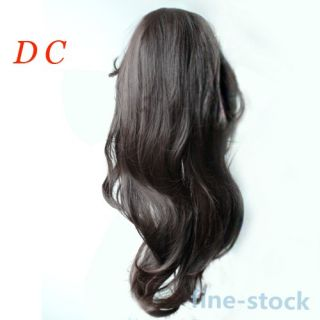 New Women's Lady's Hot Fashion Sexy Long Hair Full Wig Head Wavy Curly Hair Wigs