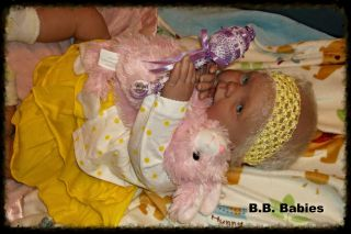 Reborn Baby Girl Valerie Cookie Sculpt Big Girl Toddler Original OOAK