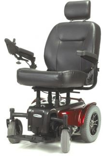 """Active Care Medalist 450 Power Chair Heavy Duty Electric Wheelchair 24"""" Seat"""